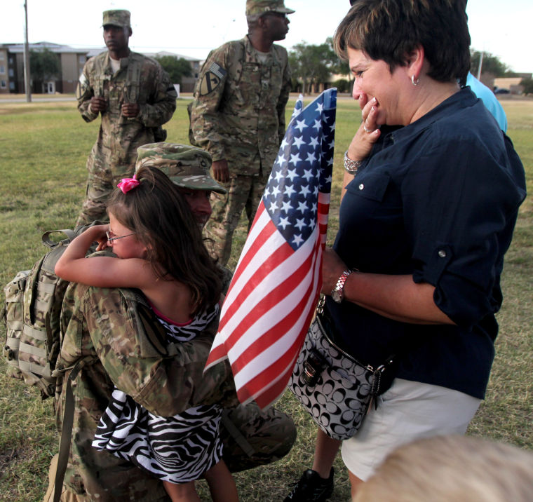 4th Brigade Combat Team homecoming