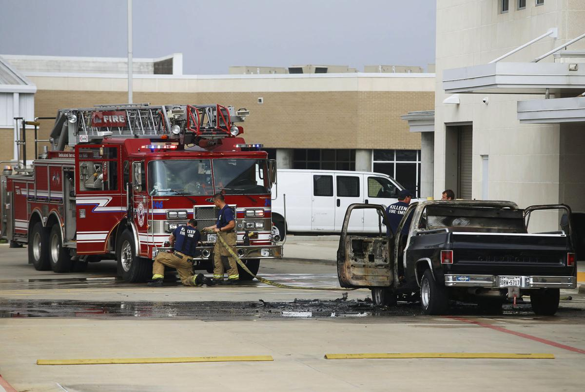 Vehicle caught on fire in kisd career center parking lot for Texas motor sports killeen tx