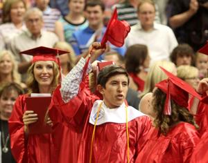 Salado High School graduation 2014