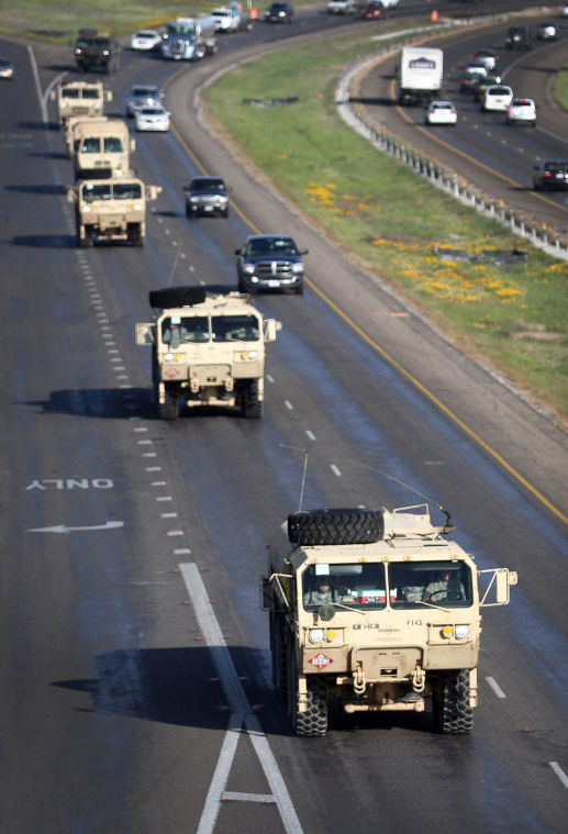 2nd Brigade Combat Team Convoy