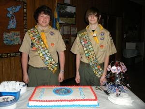 Fort Hood Scouts receive Eagle rank