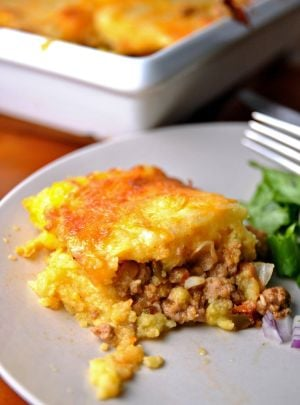 <p>With seemingly nonstop cold weather, a hearty meal of tamale pie can help ward off the chill.</p>
