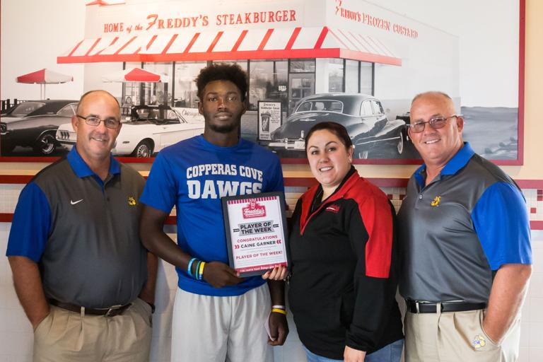 PLAYER OF THE WEEK: Garner shines in Dawgs' opening 27-14 victory