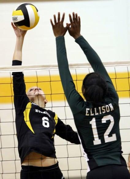 Ellison-Gatesville volleyball