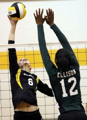 Ellison-Gatesville volleyball
