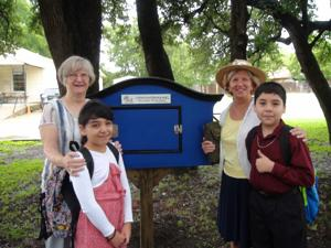 Nolanville's first book exchange site dedicated outside church