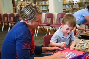 Military Child Education Coalition visits Harker Heights library