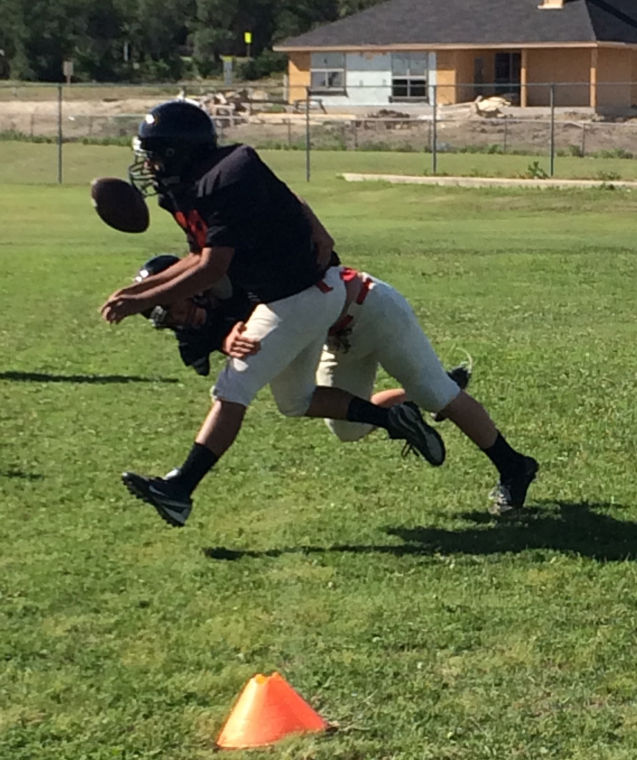 Heights spring football