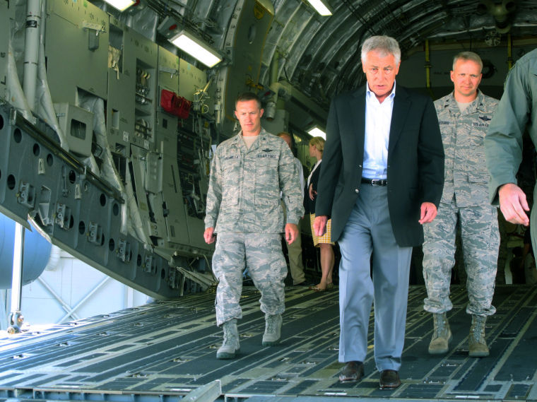 Defense secretary on budget