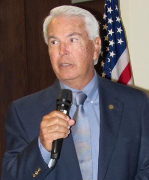CTC chancellor speaks to Rotary Club