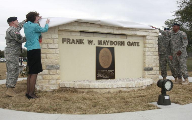 Frank W. Mayborn Gate dedication