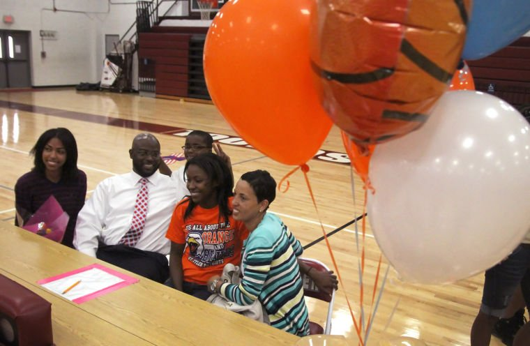Killeen Girls Basketball Signing