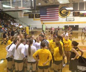 Gatesville vs. Brownwood Volleyball