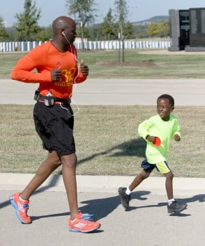 Running for the Victims of the Fort Hood Shooting