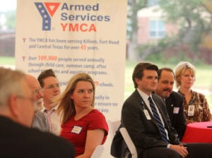 Armed Services YMCA Dedication