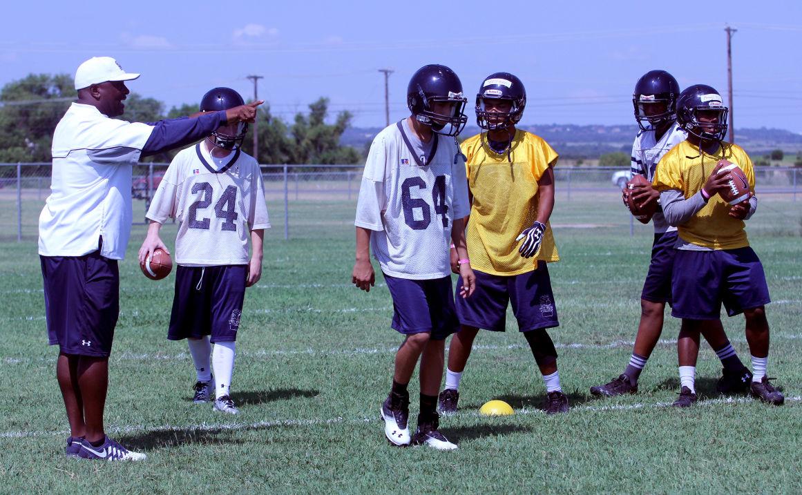 Shoemaker High School Football Practice