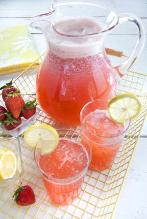 Lemonade a real treat when using fresh juice and fruit
