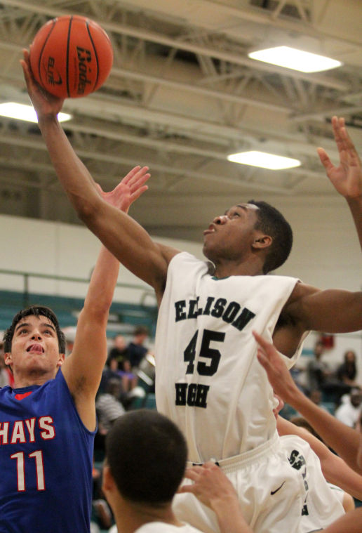 Ellison vs. Hays Boys Basketball