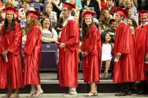 Salado High School graduation 2014