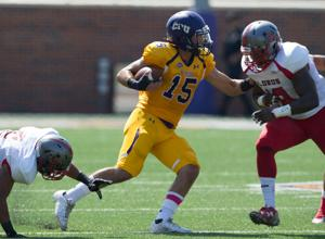 UMHB faced Sul Ross and lead at the half, 35-14