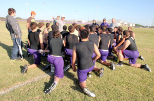 Florence Spring Football Practice
