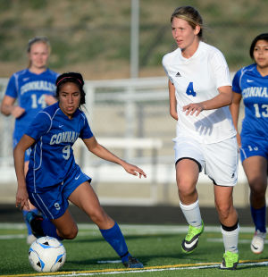 Lampasas vs. Waco Connally Girls Soccer Playoffs