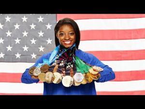 U.S. Olympian Simone Biles visits Fort Hood