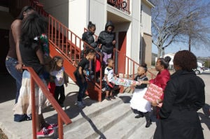 Church play/toy giveaway