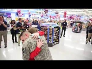 Fort Hood Soldier Surprises Wife | Video