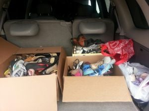 Shoe collection drive to benefit School of Wags, Haiti