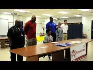 Rashard Odomes signs with University of Oklahoma