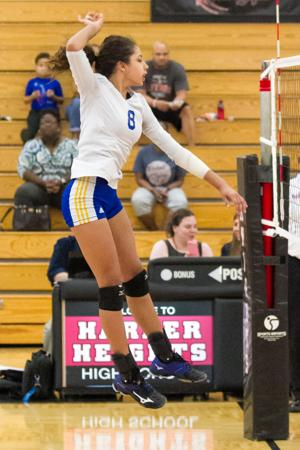 VOLLEYBALL: Copperas Cove @ Harker Heights