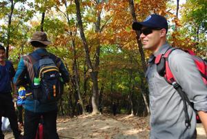 Soyosan Mountain climb in Korea