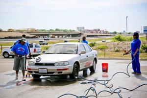 Veterans Helping Veterans carwash