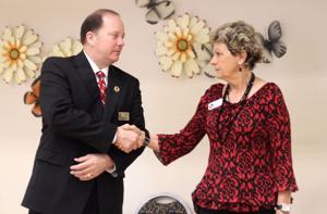 Check Presented to Lions Club Senior Center