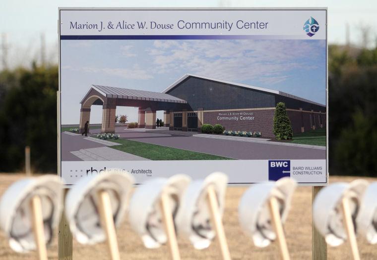 Community Center Groundbreaking