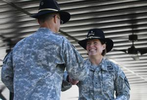 Brig. Gen. Laura Richardson ceremony