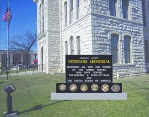 Veterans monument