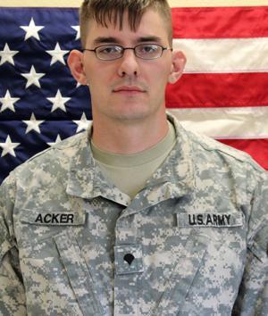 Spc. Bradley Michael Acker