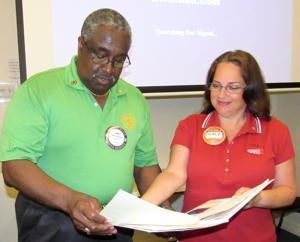 Rotary Club unveils new website