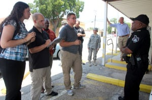 85th Civil Affairs Brigade Trains in Nolanville