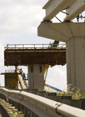 Flyover construction