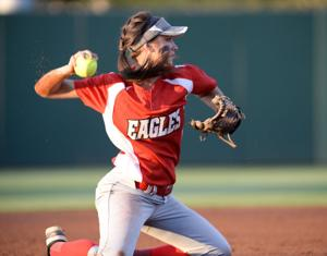 Salado vs. Woodville softball