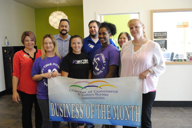 Fitness center named Business of the Month for November