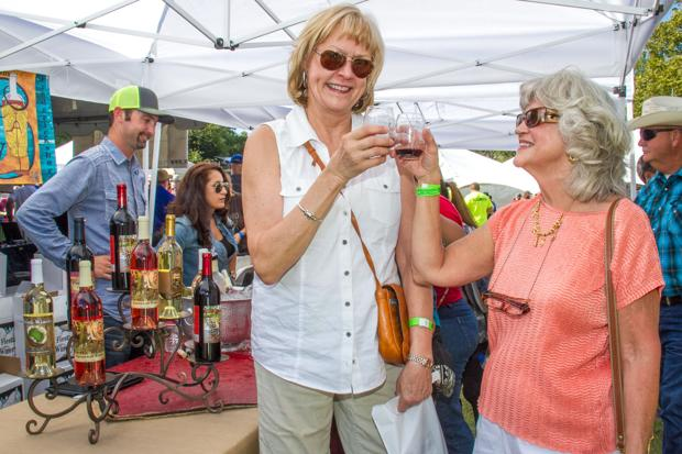 Heights Chamber hosts Food, Wine and Brew Fest
