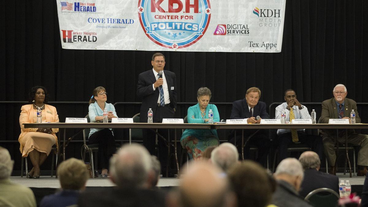Killeen candidates talk crime, audit at KDH forum