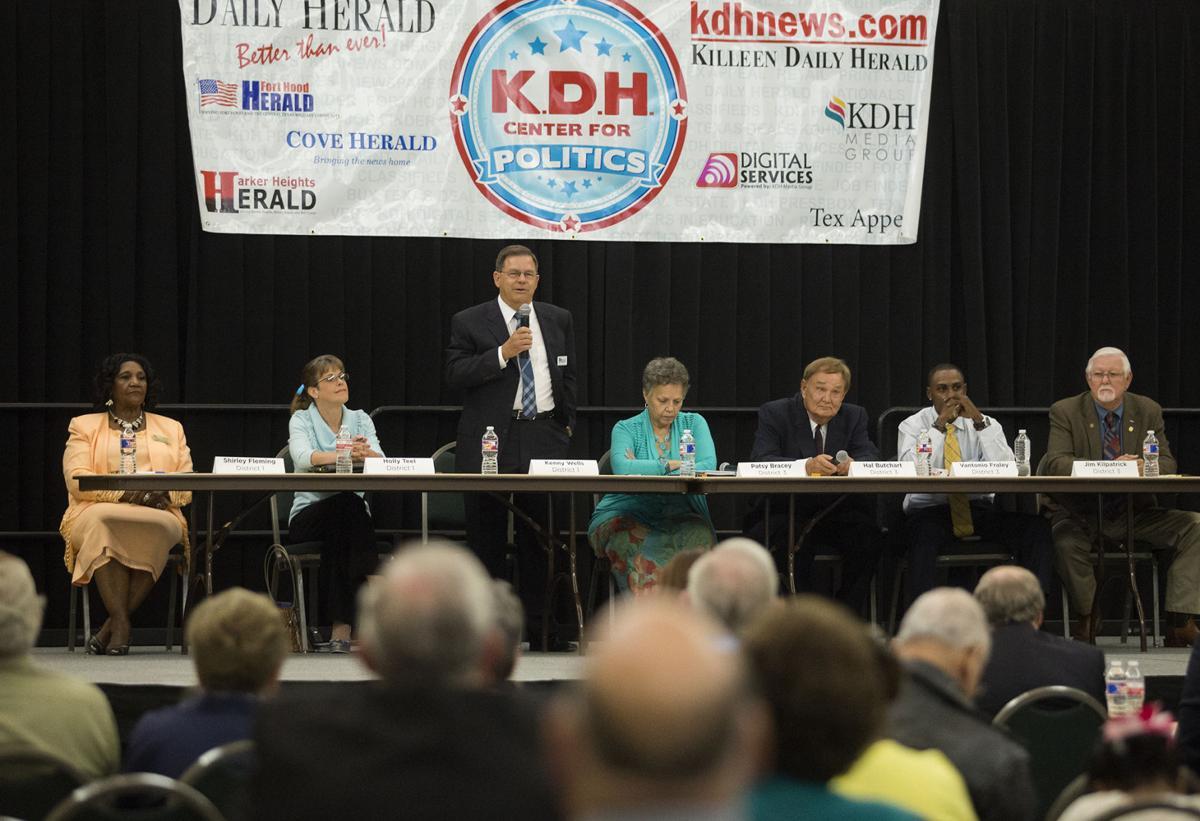 Killeen City Council forum
