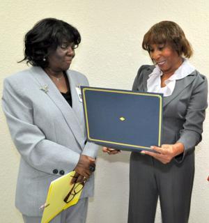 NAACP appreciation award