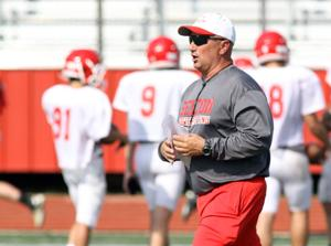 Belton football holds spring practice
