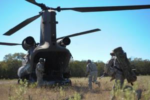 Troops train at Fort Hood